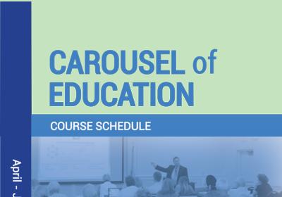 April - June 2019 Carousel of Education Schedule