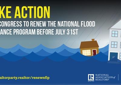 Urge your representatives to reauthorize the National Flood Insurance Program