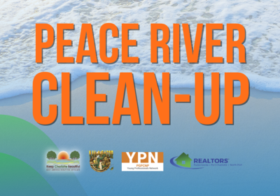 Volunteer at the YPN Peace River Clean-Up: July 20th