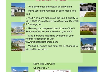 SWFL Parade of Homes Begins March 6th